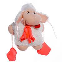 Детская мягкая игрушка,овечка Долли,белая