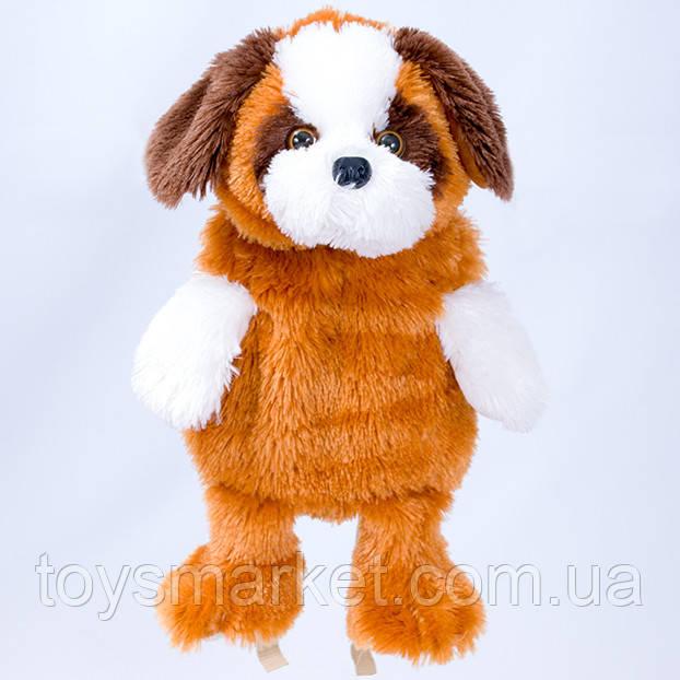 Детский рюкзак,собака  Буба,коричневый