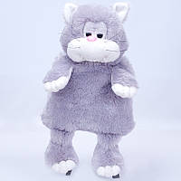 Детский рюкзак кот Наум,серый