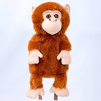 Детский рюкзак мартышка,коричневый
