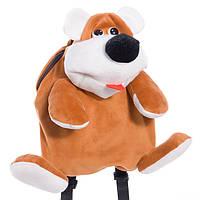 Детский рюкзак мишка Трям,коричневый