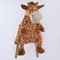 Детский рюкзак жираф,коричневый