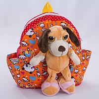 Детский  рюкзак Дружок,разноцветный