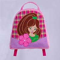 Детский рюкзак феечка,розовый