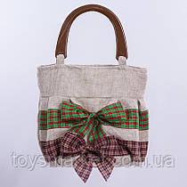 Детская сумочка,с бантом