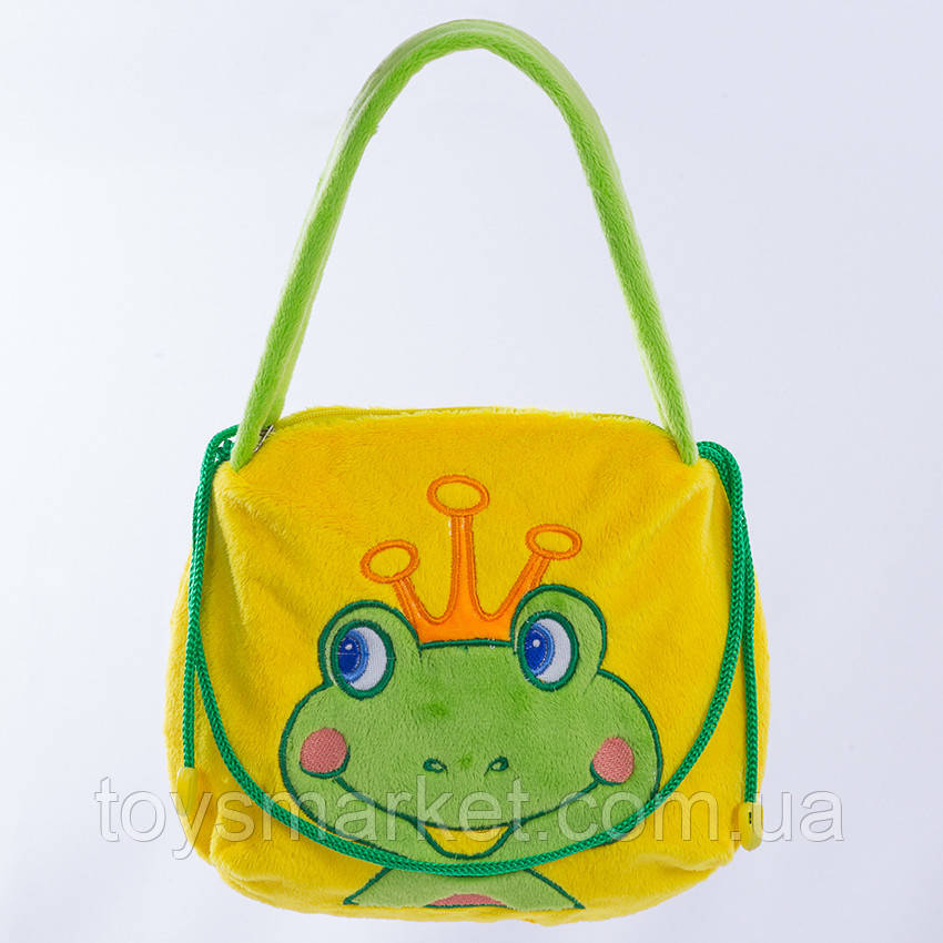 Детская сумка, Жаба, Бонни,желтая