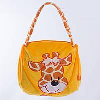 Детская сумка, Жираф Бонни,желтая