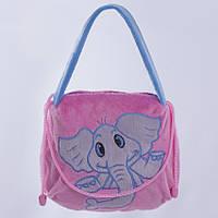 Детская сумка, Слон Бонни,розовая