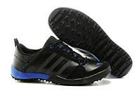 Кроссовки Adidas Daroga Two Lea Black Blue