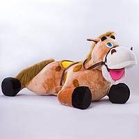 Детская мягкая игрушка,лошадка Иго-го,коричневая