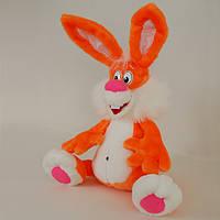 Большая мягкая игрушка,кролик Квикки,оранжевый
