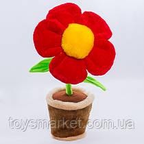 Детская мягкая игрушка,цветочек в горшке,Нарцисс