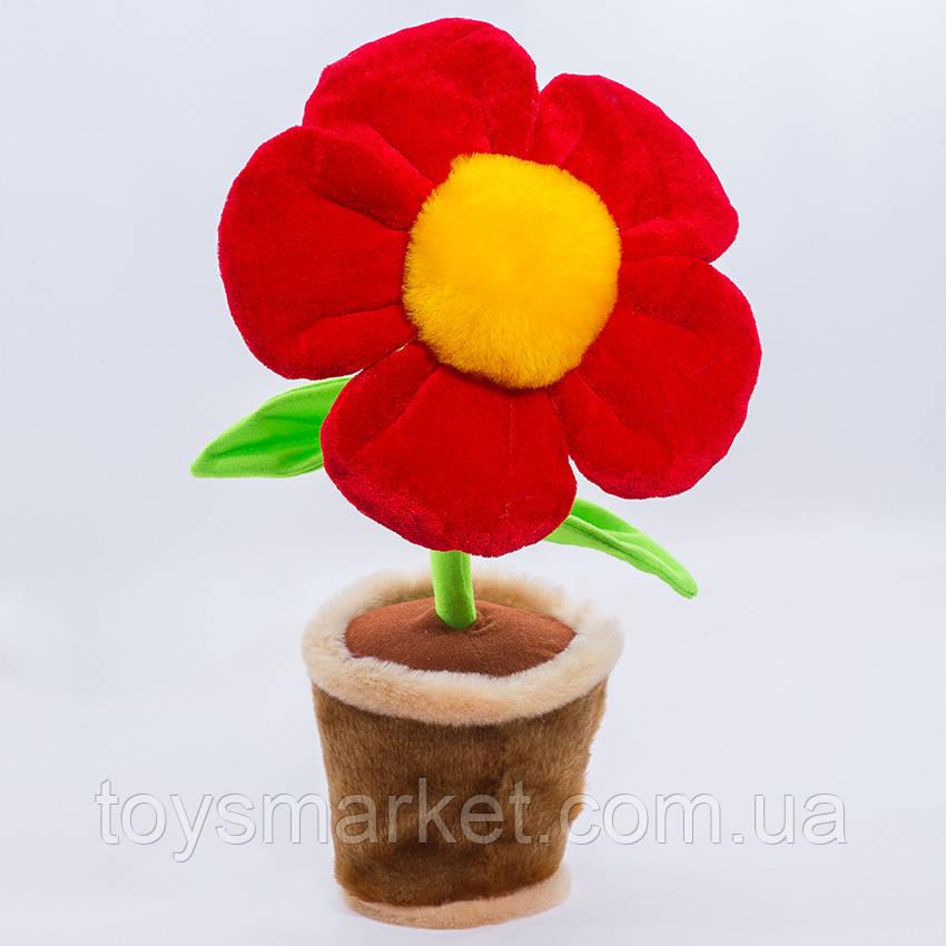 Мягкая игрушка Цветочек в горшке