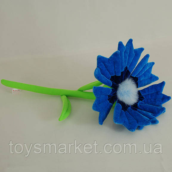 Детская мягкая игрушка,цветочек,Василёк
