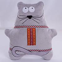 Детская мягкая игрушка,Мышка с орнаментом