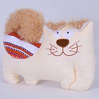 Детская мягкая игрушка,Собака с орнаментом