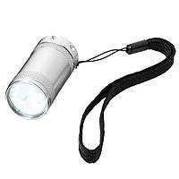 Карманный фонарик аллюминиевый