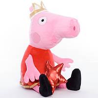 Детская мягкая игрушка,свинка Пеппа,принцесса