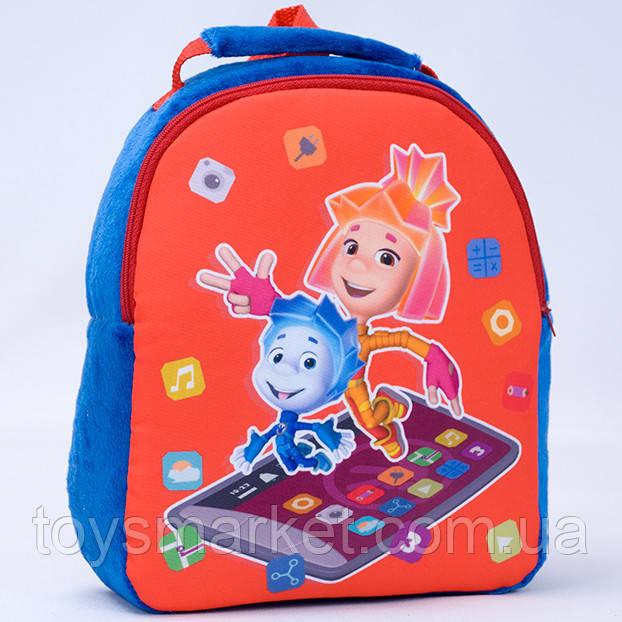 Детский рюкзак,фиксики,синий