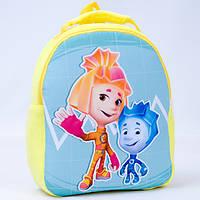 Детский рюкзак,фиксики,желтый