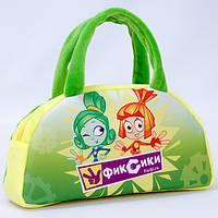 Детская сумка,Фиксики,зеленая