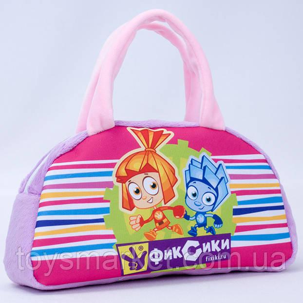 Детская сумка,Фиксики,розовая