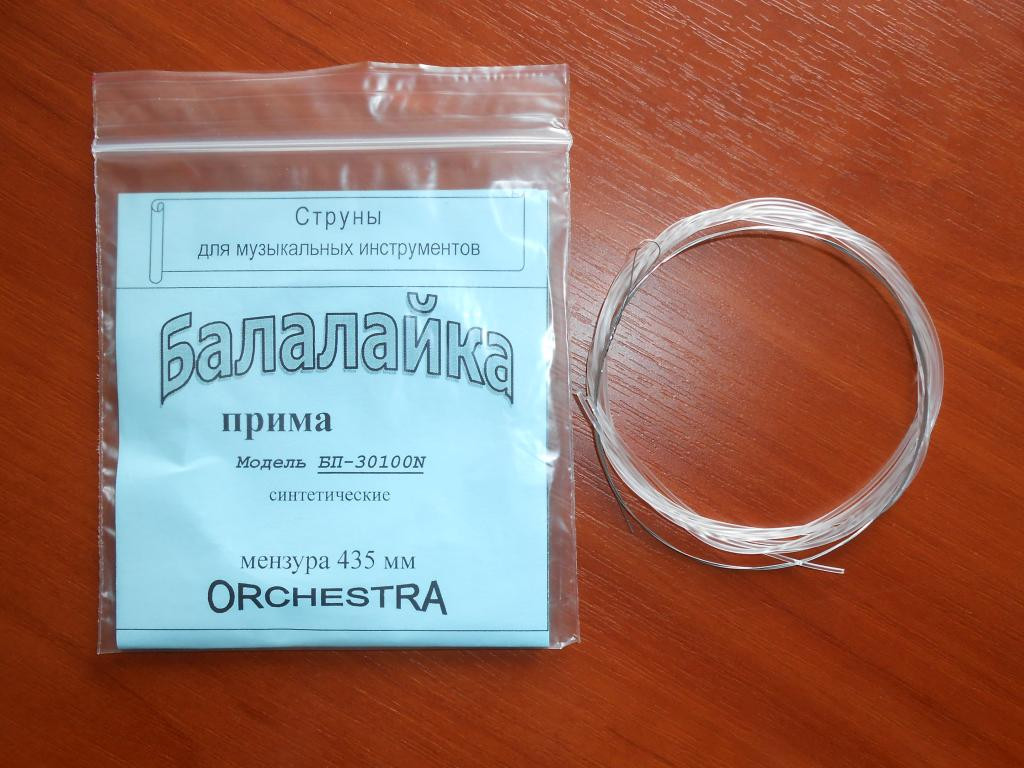 Нейлоновые струны для Балалайки Прима 3-х струнная