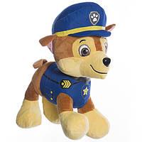 Детская мягкая игрушка 25 см,щенячий патруль,щенок Чейз