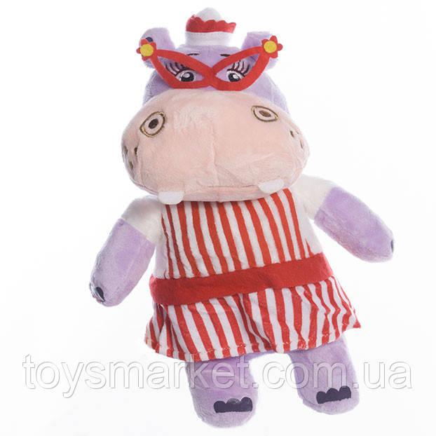 Детская мягкая игрушка,бегемотиха Долли