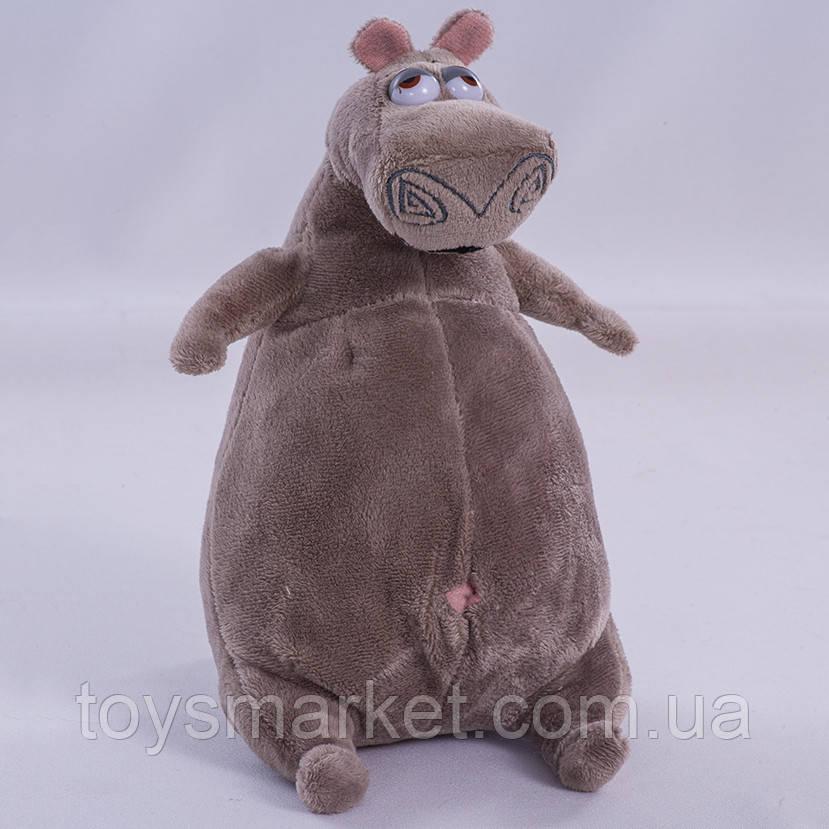 Детская мягкая игрушка, ,бегемот Глория, Мадагаскар