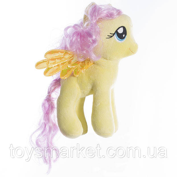 Детская мягкая игрушка,Пони,желтая