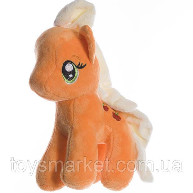 Детская мягкая игрушка,Пони,оранжевая