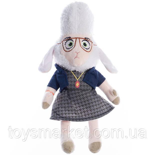 Детская мягкая игрушка,зверополис, Мисс Барашкис