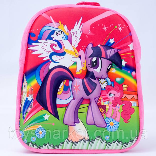 Детский рюкзак,пони,розовый