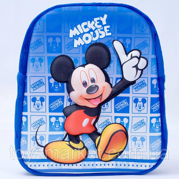 Детский рюкзак,Мики Маус,синий