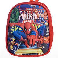 Детский рюкзак,человек паук,красный