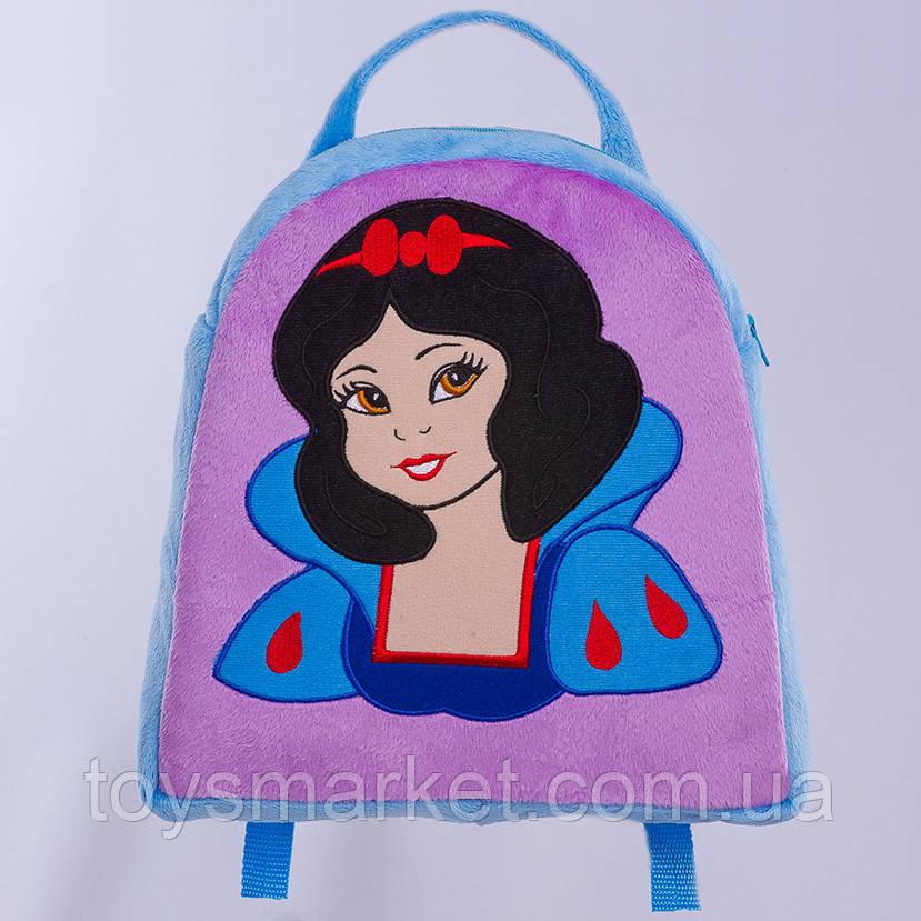 Детский рюкзак,Белоснежка,фиолетовый