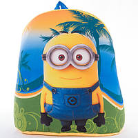 Детский рюкзак,Миньйон,синий