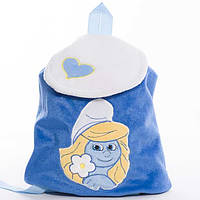 Детский рюкзак,Смурфики,Смурфетта,синий