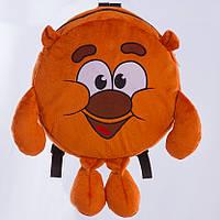 Детский рюкзаксмешарики,Копатыч,коричневый