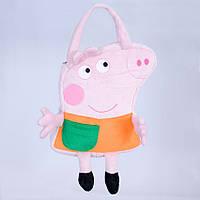 Детская сумка,свинка Пеппа,Свин