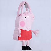 Детская сумка,свинка Пеппа,розовая