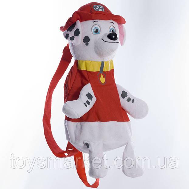 Детский рюкзак Щенячий патруль, щенок Маршалл