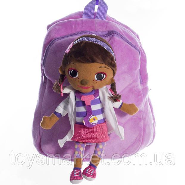 Детский рюкзак кукла Дотти фиолетовый