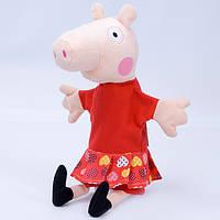 Детская мягкая игрушка,рукавичка,свинка Пеппа