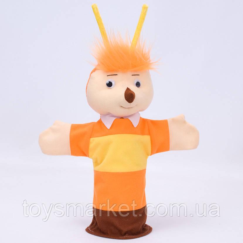 Игрушка рукавичка для кукольного театра, Пчелка, Лунтик, кукла перчатка на руку