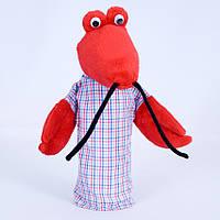 Детская мягкая игрушка,рукавичка,Рак