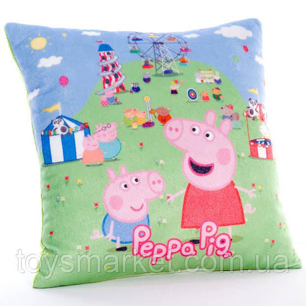 Детская подушка свинка Пеппа фото 1