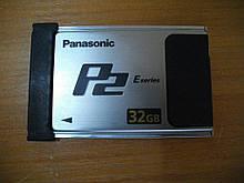 Карта памяти PANASONIC AJ-P2E032XG 32GB E series