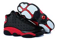 Баскетбольные кроссовки Air Jordan Retro 13 Black/Red Реплика, фото 1